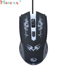 Beautiful Gift New 1600 DPI Optical USB LED Wired Game Mouse Mice For PC Laptop Computer Wholesale price May11