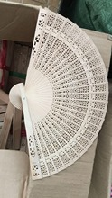 500 X Silk Good Style Polka Dots / Oriental Dance Party Wedding Folding Hand Fan Free Shipping