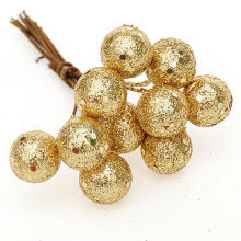 10Pcs/lot Christmas Tree Hanging Baubles Fruit Ball Hanging Balls Party Christmas Decoration Supplies