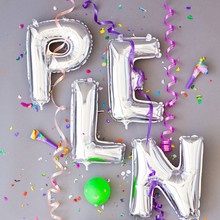 Hot Selling Brand New Foil Letters Balloons New Year Birthday Party and Wedding Ballons Decoration love Ballon High Quality(China)