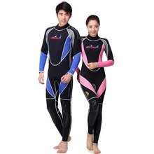 3MM neoprene piece warm diving suit full suit diving suit thick winter bathing suits supplies surf wear