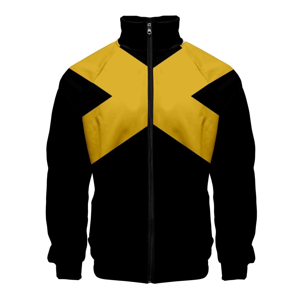 X Men Dark Phoenix Hoodie Sweatshirt Cosplay Superhero 3D Jacket Coat Costume
