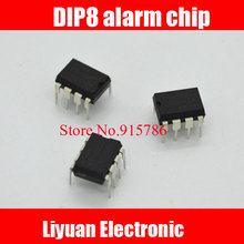 100pcs DIP8 Package / 110 Chip alarm / alarm chip 119/120 alarm chip / three sound alarm IC
