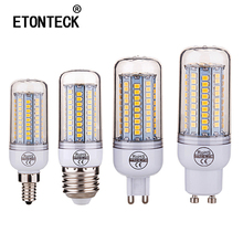 Buy E27 E26 B22 G9 220V LED Lamp 2835SMD Led Bulb E14 E12 GU10 Corn Light 102 LEDs Lamp Bombillas Bulbs Lampada Ampoule Lighting for $1.43 in AliExpress store