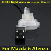 For Mazda 6 2009 2010 2011 2012 2013 2014 Atenza RX-8 Car CCD Night Vision Backup Rear View Camera Waterproof Parking Assistance