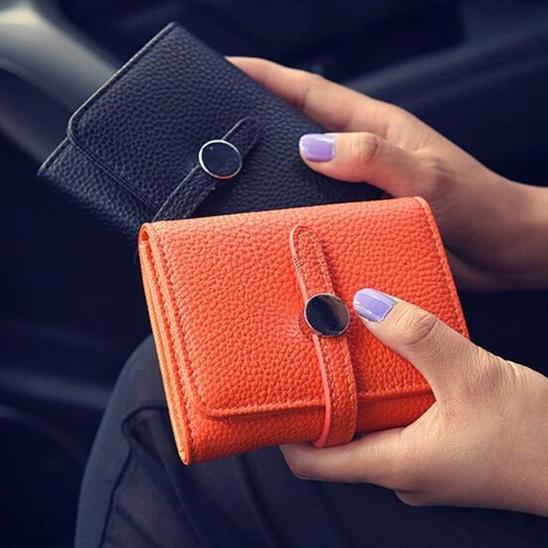 2017 Women Wallets Dollar Price Soft Leather Zipper Small Coin Purse Ladies Card Holder Short Clutch Purse Female Money Handbag<br><br>Aliexpress