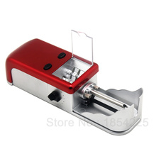Electric Cigarette Rolling Machine Automatic Tobacco Roller Maker Metal with Gear in Hopper