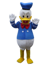 free shipping custom costumes ball Donald Duck and Daisy Mascot Costumes Cartoon dolls Imitation clothing cosplay+EPE material(China)
