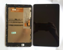 high quality LCD display+Touch Digitizer Screen with frame Assembly for ASUS Google Nexus 7 nexus7 2012 ME370T wifi version(China)