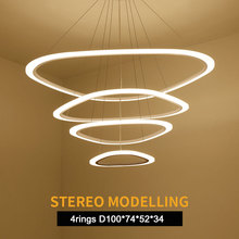 LEDVAS LED Pendant Lights Free Style Combination Originality Lamps AC85-265V Remote Control Dimmable LED Bulbs For Living Room