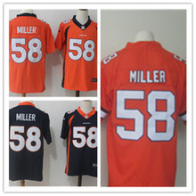 Mens 58 Von Miller Jersey 2017 Rush Salute to Service High Quality Football Jerseys(China)