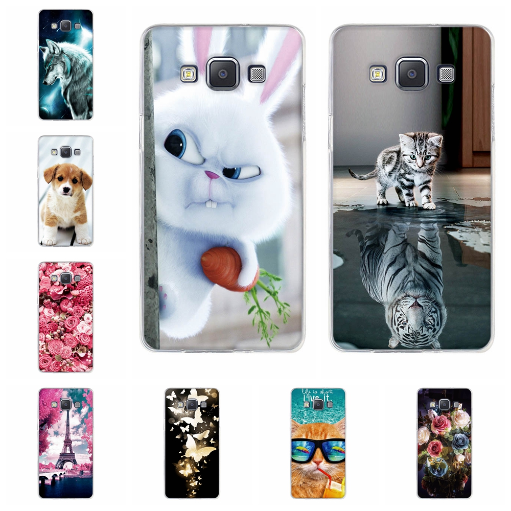 Cover Samsung A3 A5 2015 2016 2017 Case Soft Silicone Back Cover 3D Cute Samsung Galaxy A3 A5 2015 2016 2017 Phone Cases