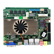 X86 Linux Mini PC I5 Motherboard Embedded HM77 Mainboard for Thin Client(China)