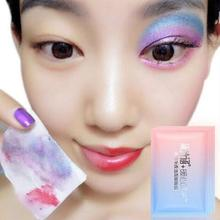 1pc Women Makeup Cleansing Wet Wipes Deep Clean Wipes Eye Face Lip Makeup Remover A5