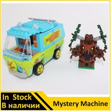 BELA 10430 Compatible Scooby Doo The Mystery Machine 75902 Building Block Model Educational Toys For Children(China)