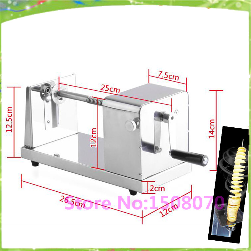 Gold Supplier Stainless Steel Spiral Potato Chips Machine Manual Potato Tower Machine For Sale<br><br>Aliexpress