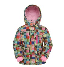 KIDS SKI JACKET GIRL OUTERWEAR WINTER JACKET(China)