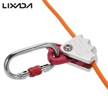 Lixada 15kN Rock Climbing Rope Grab Protection Equipment for 9-12mm Rope Safety Mountaineering Parts Rock Climbing Accessory(China)