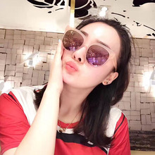 Oval Cat Eye Oversized Sunglasses High Quality Italy Imported Acetate Women Mens Unisex Brand Designer Mirror Sun Glasses UV400(China)