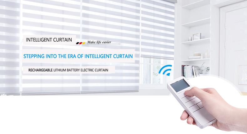 WIFI Electric Smart Automatic Motorized Shade Window /& Blinds APP Remote  E E