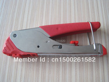 LS-H518E compression crimping tool for coaxial cable RG59 RG6 F connector with two exchangeable compression head
