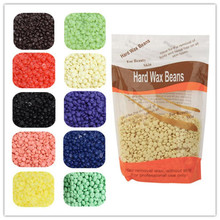 300g/bag Hot Film Hard Wax Pellet Waxing Bikini Hair Removal Bean Product Depilatory Wax Beans No Strip Depilatory Wax Beans(China)