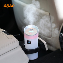 Aroma Diffuser Ultrasonic Humidifier Car Air 300ML USB 5V 2W 4Colors Ultrasonic Mist Maker Oil Diffuser Aromatherapy For Car