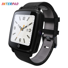 Interpad Bluetooth Smart Watch Telephone Call Clock Support Micro SIM Card Video Recording Wrist Watch For Samsung s7 edge Apple(China)