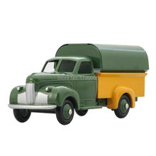 DINKY TOYS Atlas 25Q STUDEBAKER CAMIONNETTE BACHEE Diecast ALLOY Classic military trucks model for collect  Wholesale