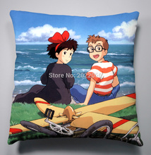 Buy Anime Manga Kiki's Delivery Service Pillow 40x40cm Pillow Case Cover Seat Bedding Cushion 004 for $6.99 in AliExpress store