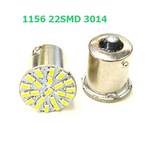 BA15S P21W 1156 22 LED 3014 SMD Car Auto Tail Side Indicator Lights Parking Lamp Reverse Brake Light Bulb 12V