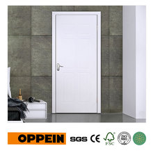 Guangzhou Manufacturer Wholesale White MDF Interior Door with Simple Design P609(China)