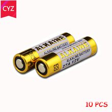 New 10pcs/lot 12V 27A MN27 27A L828 A27 Super Alkaline battery For Doorbell Remote Control Flashlight Etc