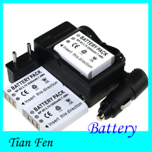 New 3pcs Battery + Charger NP-95 NP 95 Rechargeable Camera Battery For FUJIFILM FinePix F30 F31fd Real 3D W1 X-S1 X100 X100s