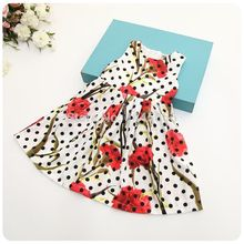 Brand special break code clearance summer girl flower dots dress
