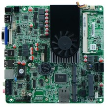 TN-C1037U motherboard Celeron dual-core industrial control mini 1037U motherboard double 8LVDS Nano motherboard(China)