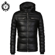 COUTUDI Factory Hot Sale Men's Winter jacket Thick Warm Fashion Coat and Jackets Men Quality Windbreaker Outwear Parkas Clothing(China)