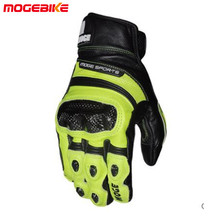 Hot selling Cool motorcycle gloves moto racing gloves knight leather ride bike driving bicycle cycling Motorbike(China)