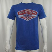 T-shirt Casual Man Tees Authentic Dave Matthews Band East Side Distressed Slim Fit T-shirt S M L Xl New(China)