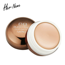 Hername Concealers Facial Face BB Cream Foundation Contour Cosmetic Portable Round Full Cover Concealer Natural Tools Makeup(China)
