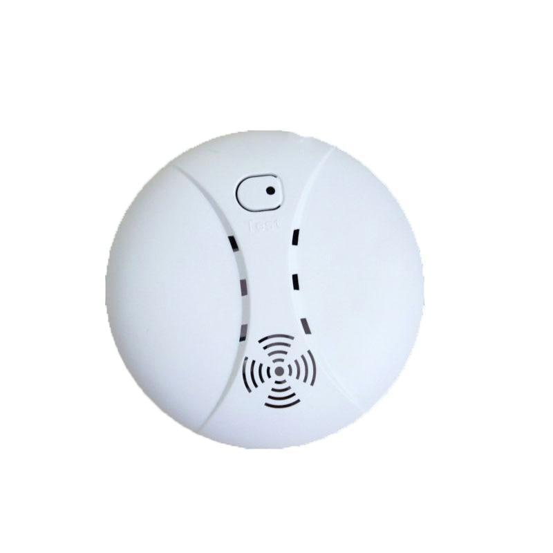 433MHZ Wireless smoke detector gsm alarm sensor for home security alarm host <br><br>Aliexpress