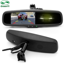 HD 4.3 Inch Auto Dimming Anti Glare Rearview Mirror Parking Monitor With Original Bracket Connect to Rear View Camera