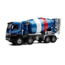 1:50 Alloy Cement Truck Model Diecast Metal & ABS Mixer Truck Engineering Vehicle Kids Toys For Children Brinquedos Boys Gift