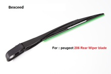 "Car rear wiper blades For Peugeot 207 / 206 / 307 Soft Rubber WindShield Wiper Blade , Size 14""(350mm)"