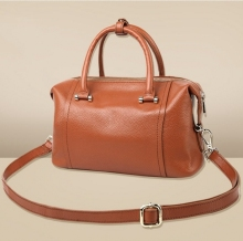 Summer new head leather handbags fashion shoulder Messenger bag tide female casual handbag