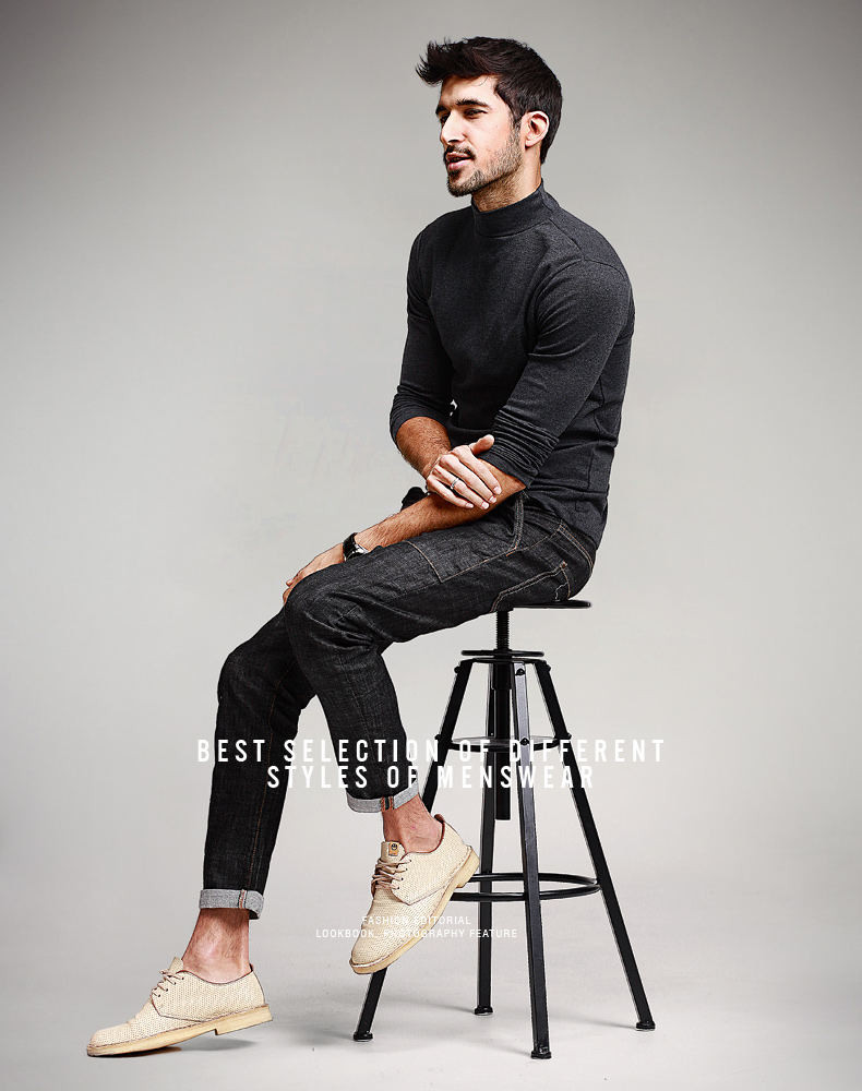 HTB1TJdjNFXXXXXzXVXXq6xXFXXXs - KUEGOU Mens Casual T Shirts 5 Solid Color Brand Clothing For Man's Long Sleeve Slim T-Shirts Male Wear Plus Size Tops Tees 803