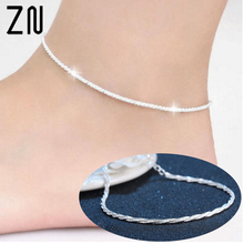 Super Hot Hemp Rope Women Chain Ankle Bracelet Barefoot Sandal Beach Foot Jewelry GIfts