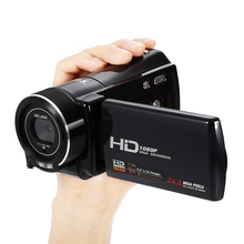 Original  HDV - V800 1080P 24MP Video 16X Digital Zoom Camera Camcorder 3.0 inch TFT Touch Screen Recorder