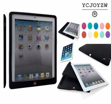 Case for Apple iPad 2 ipad 3 ipad 4 - Quality drop resistance TPU silicone + latest popular color.Fashion simple and portable