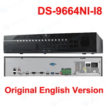 DS-9664NI-I8 Embedded 4K NVR 64Ch NVR Support 2-ch HDMI 2-ch VGA HMDI1 at up to 4K 3840x2160 resolution IP Camera